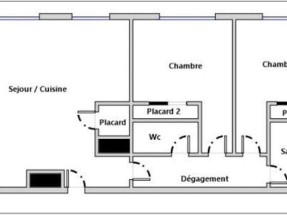 Vente appartement 3 pièces 64,51 m2