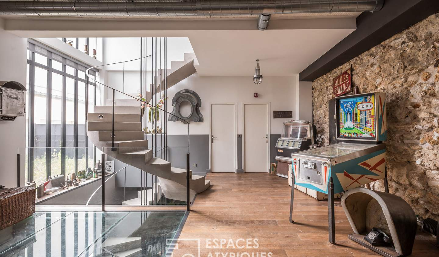House with terrace Issy-les-Moulineaux