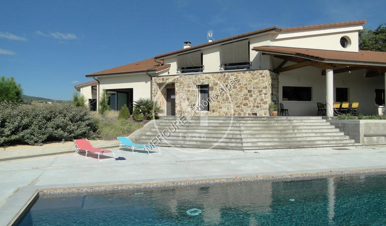 Maison avec piscine Peaugres
