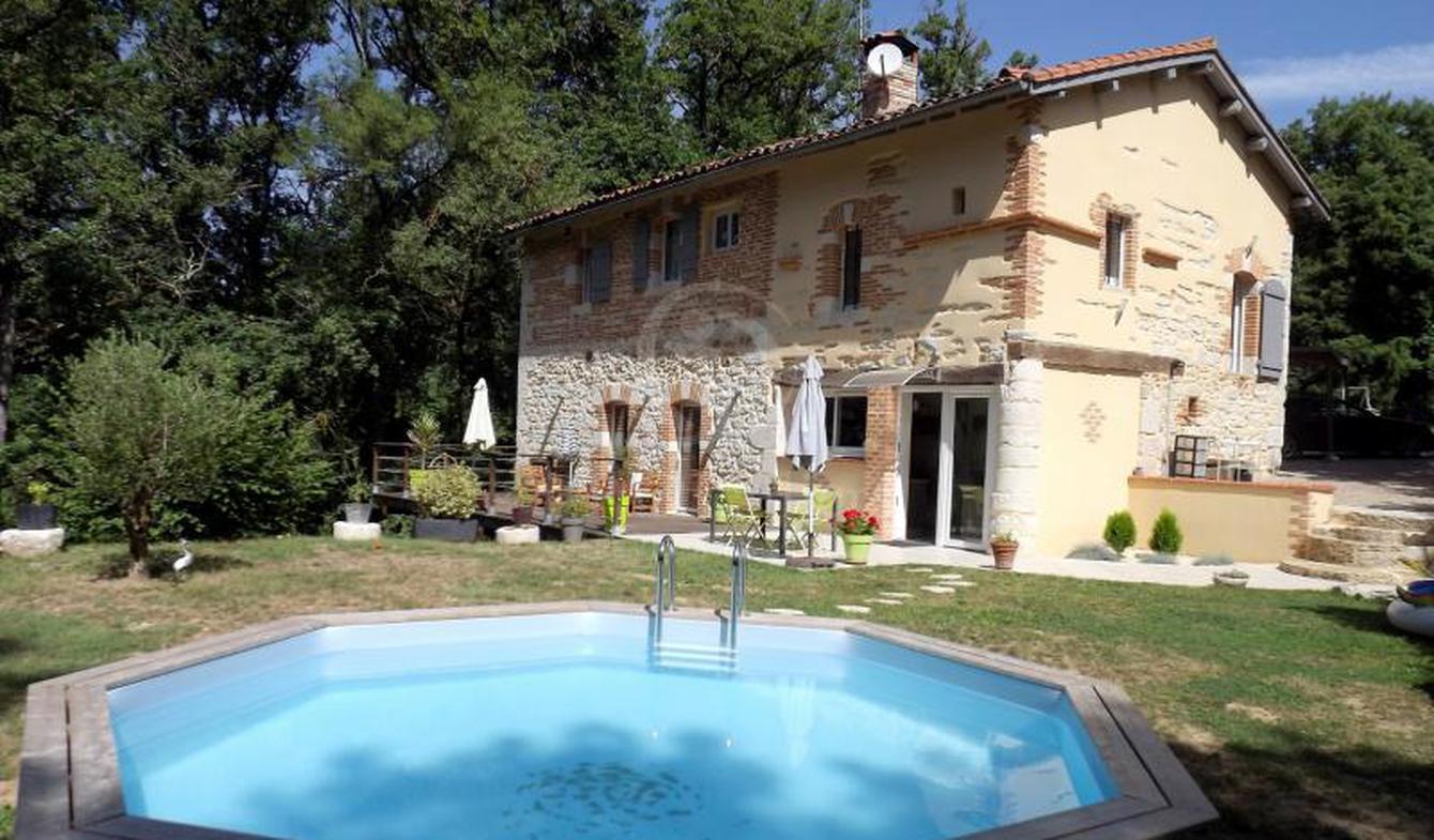 Propriété avec piscine Castelnau-de-Lévis