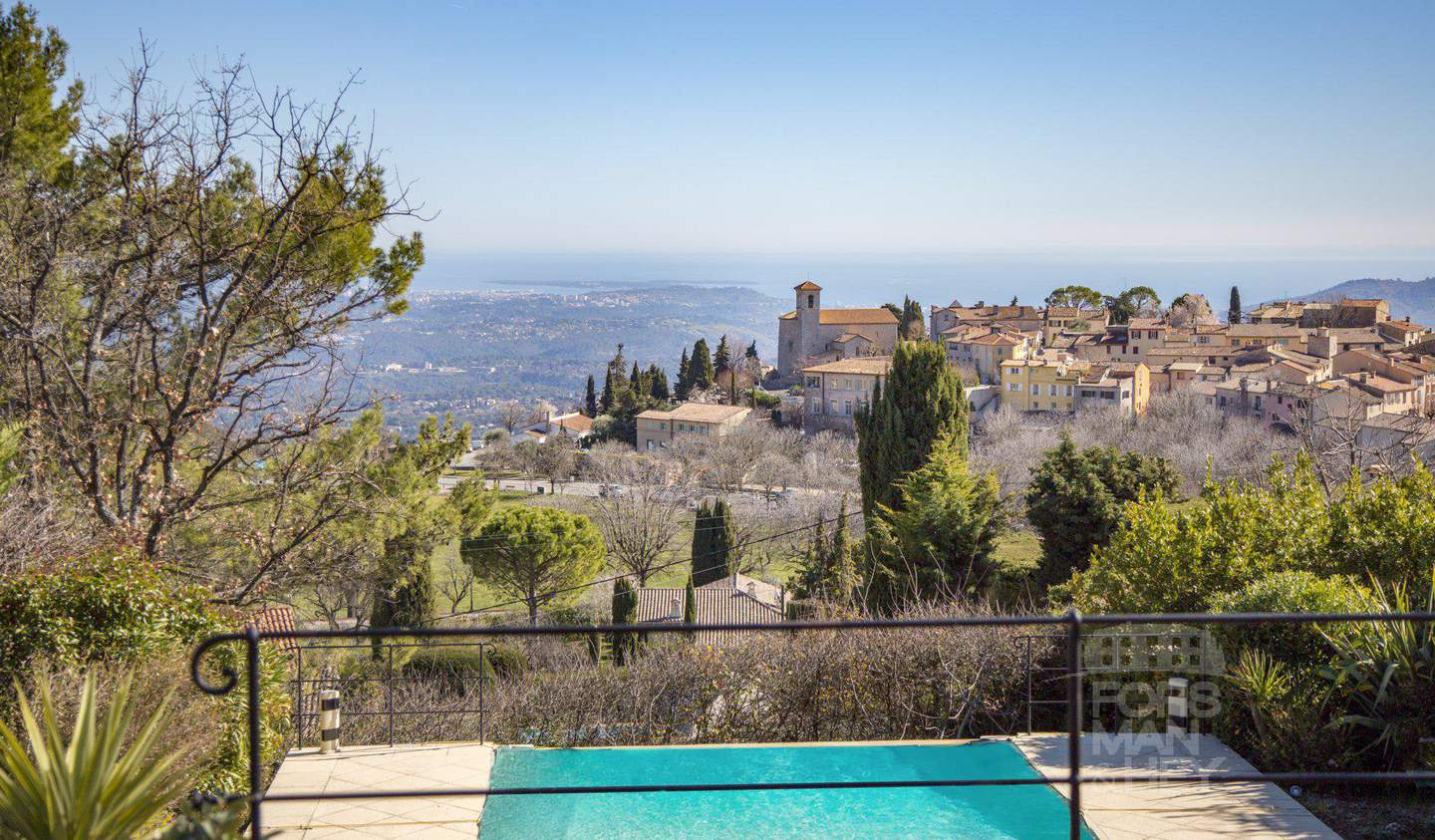 Villa with pool and terrace Cabris
