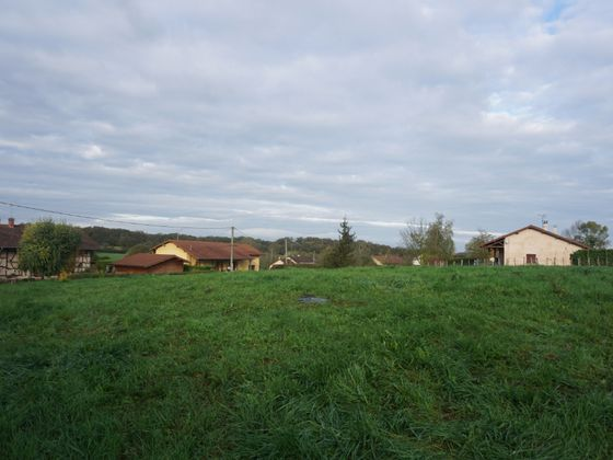 Vente terrain 1400 m2