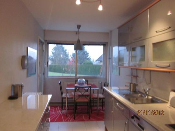 Location appartement meublé 3 pièces 88 m2