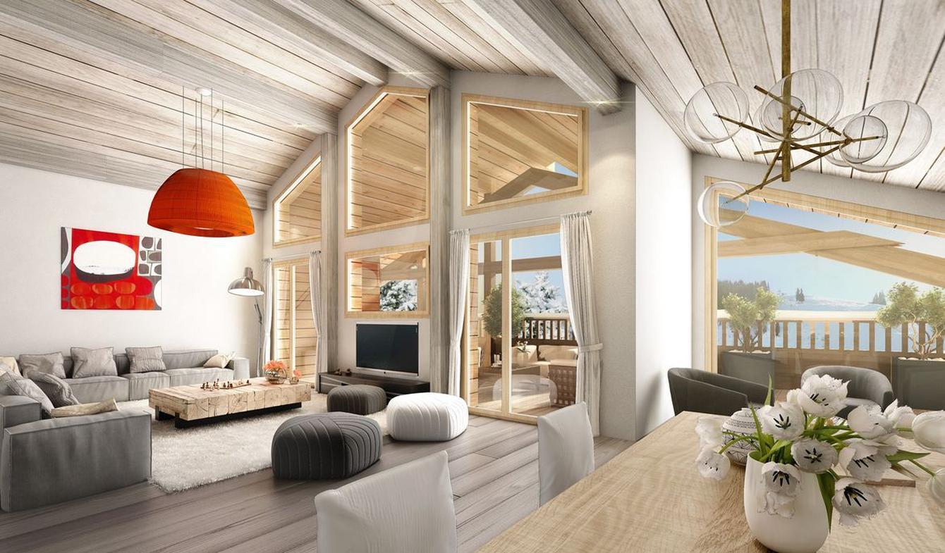 Apartment with pool La Clusaz