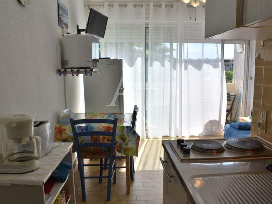 Location studio meublé 15,89 m2