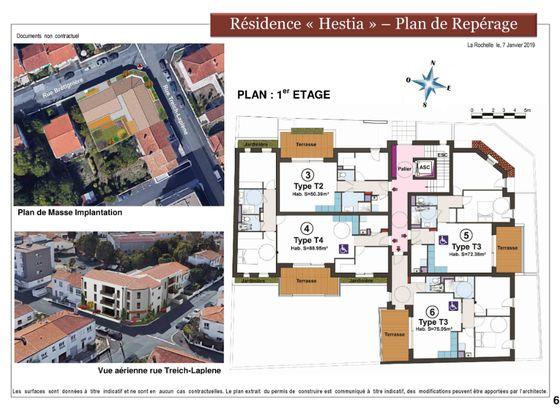 Vente appartement 3 pièces 72,3 m2