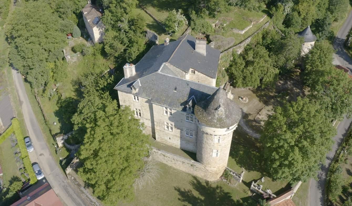 Castle Villefranche-de-Rouergue