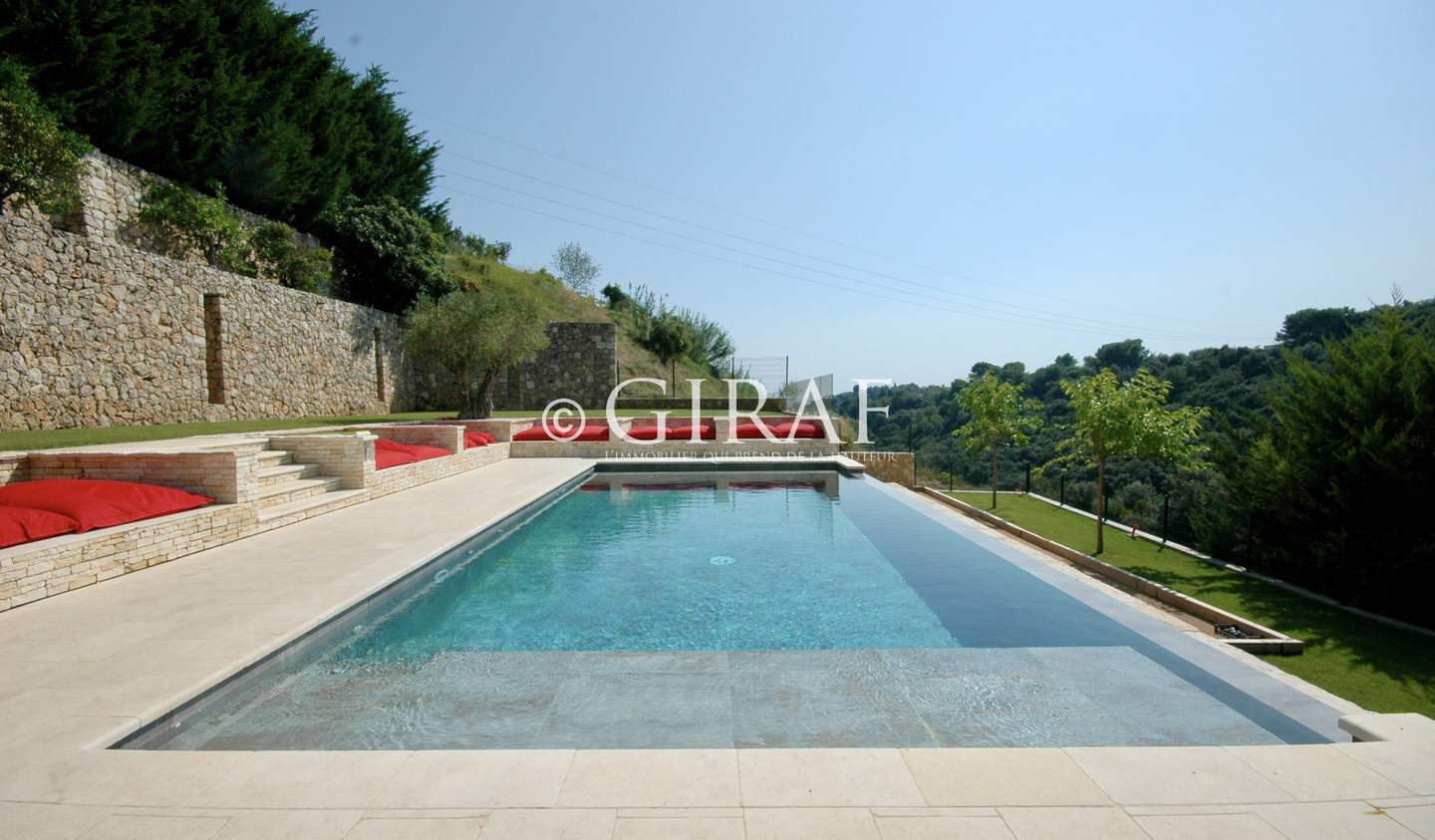 Villa with pool and terrace Cagnes-sur-Mer