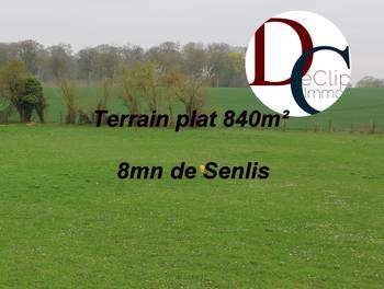 Terrain 840 m2