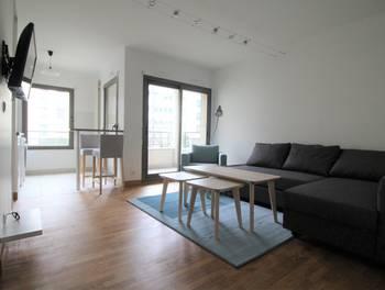 Studio meublé 28,2 m2