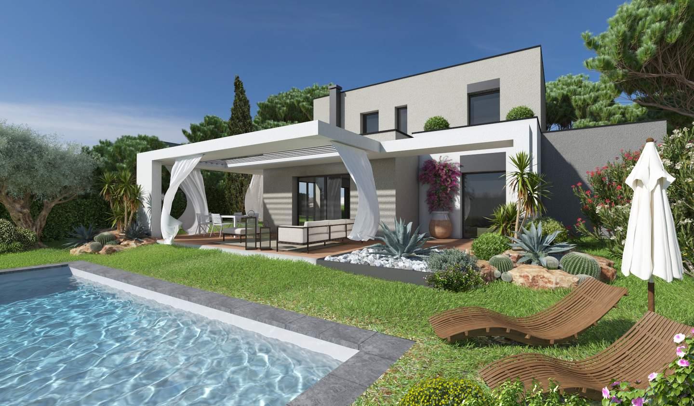Villa avec piscine et terrasse Zonza