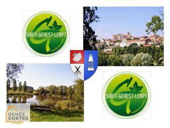 viager à Saint-Genest-Lerpt (42)