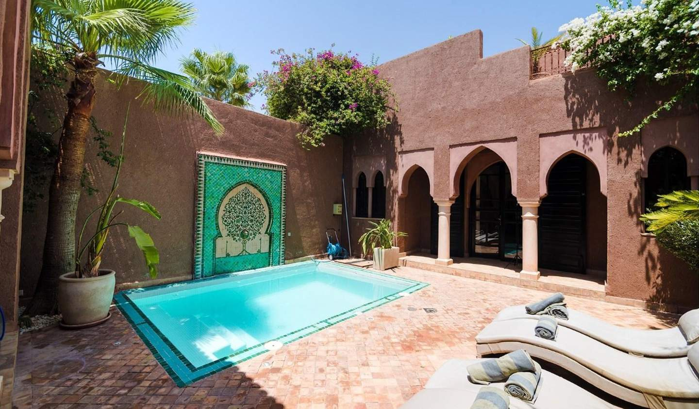 House with pool and terrace Marrakesh