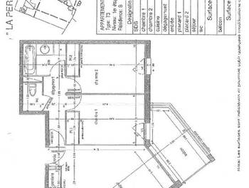 Appartement 3 pièces 58,27 m2