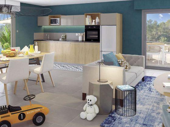 Vente appartement 2 pièces 39,56 m2