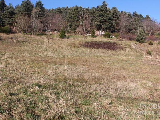 Vente terrain 1581 m2