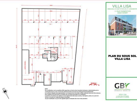 Vente appartement 2 pièces 40,6 m2