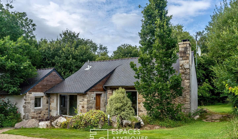 House with terrace Plourin-les-morlaix