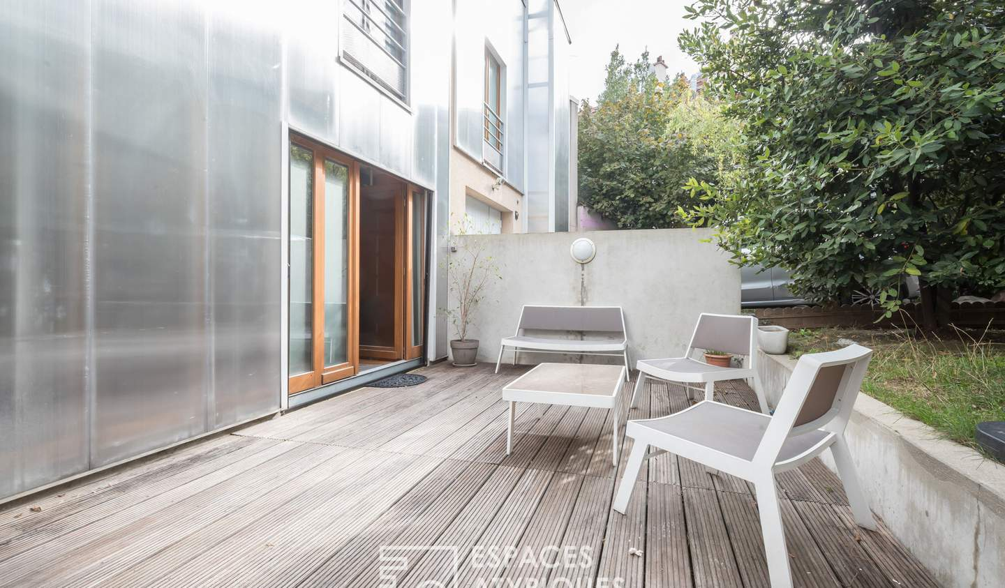 House with terrace Aubervilliers