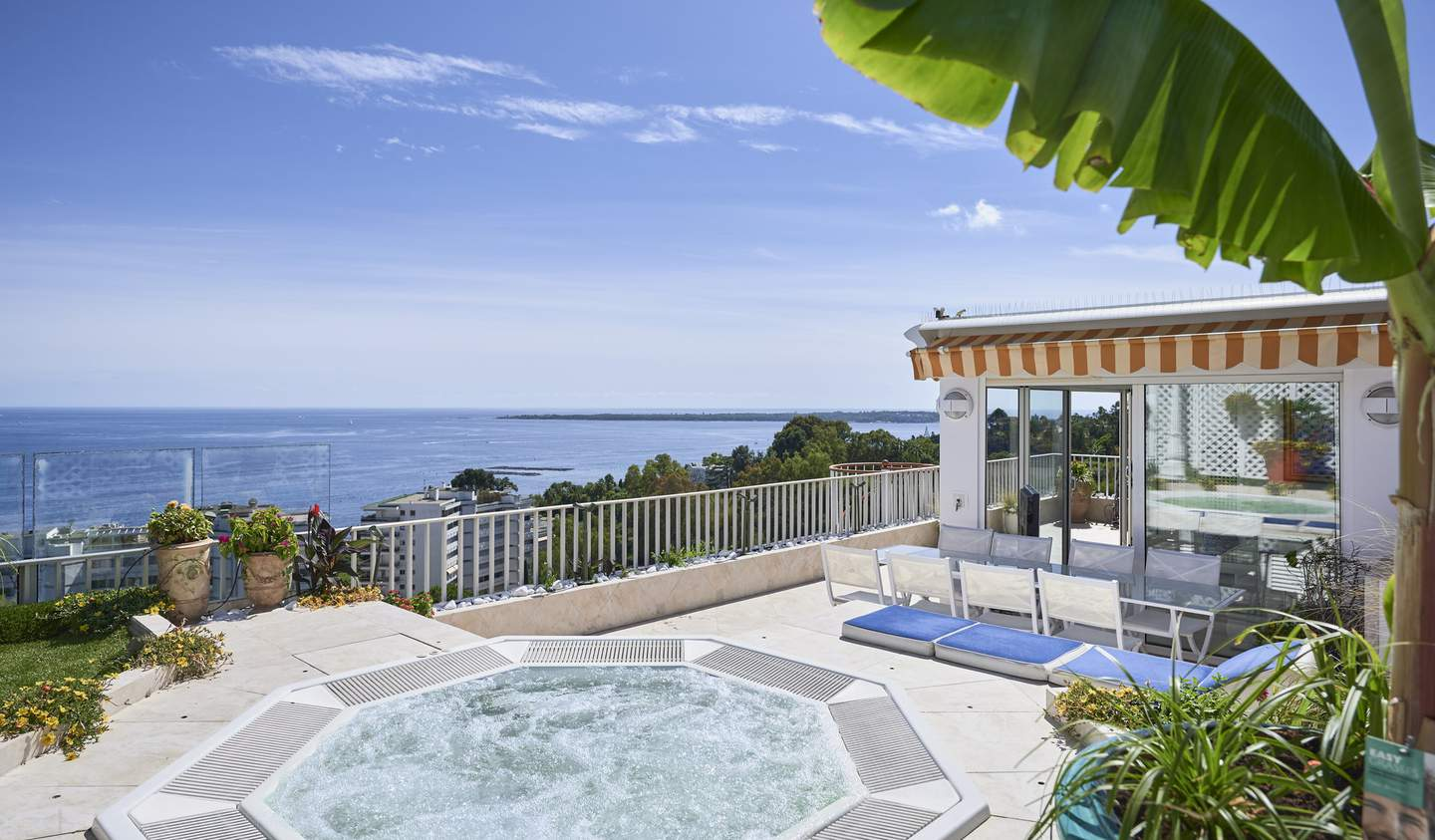 Apartment with terrace and pool Le golfe juan