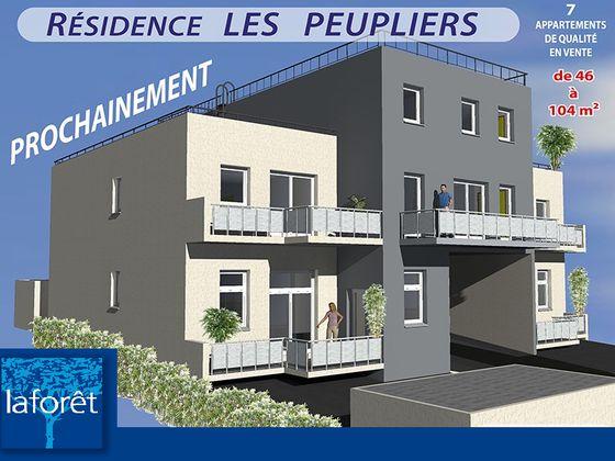 Vente appartement 2 pièces 53,9 m2