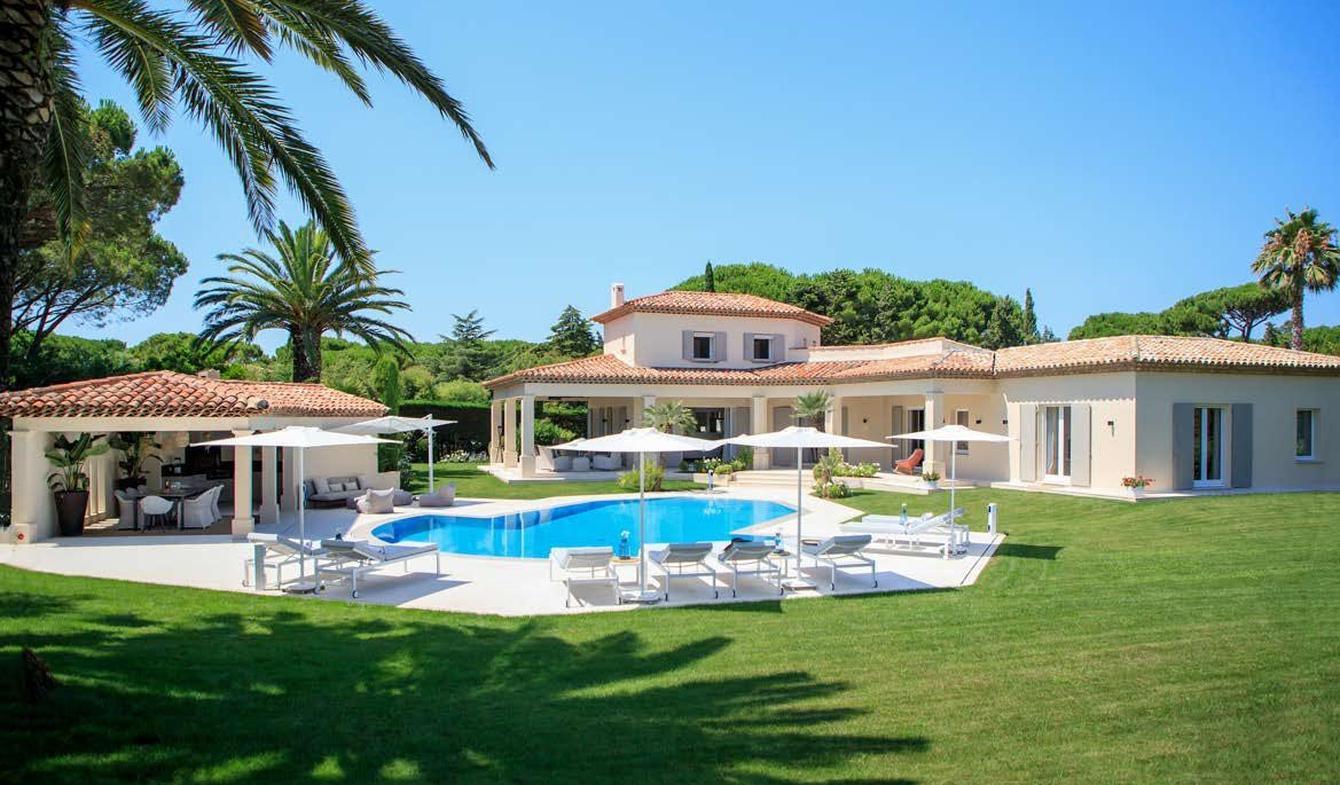 Villa avec piscine en bord de mer Saint-Tropez