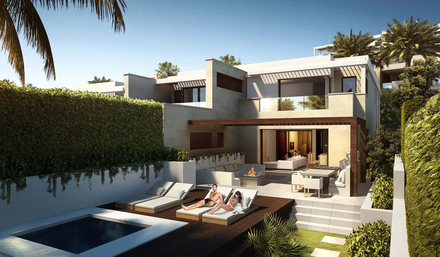 Apartment with terrace and pool Estepona
