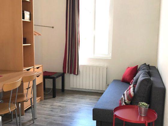 Location studio meublé 16,5 m2