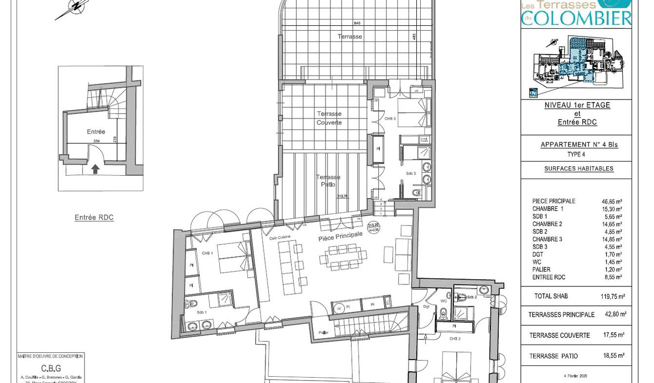Appartement avec piscine Roquefort-les-Pins