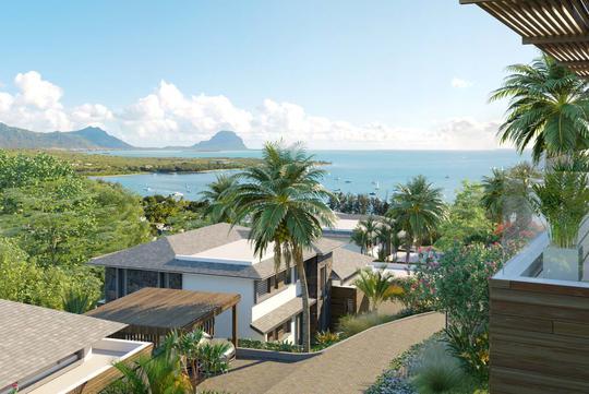 Villa avec piscine en bord de mer