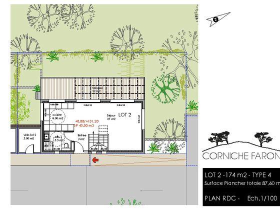 Vente maison 4 pièces 86,4 m2