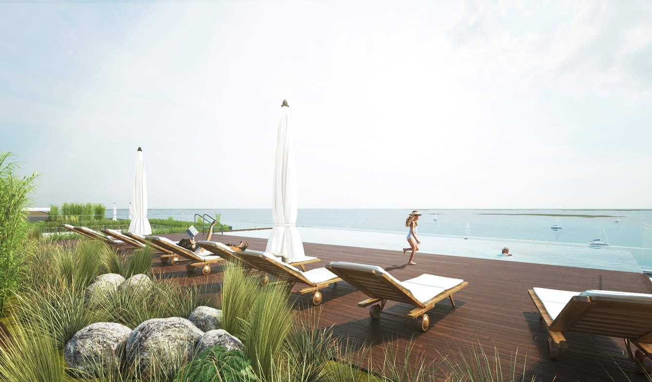 Appartement contemporain avec piscine en bord de mer Olhão