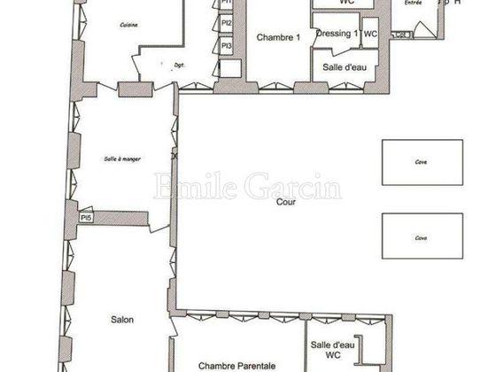 Vente appartement 4 pièces 211 m2