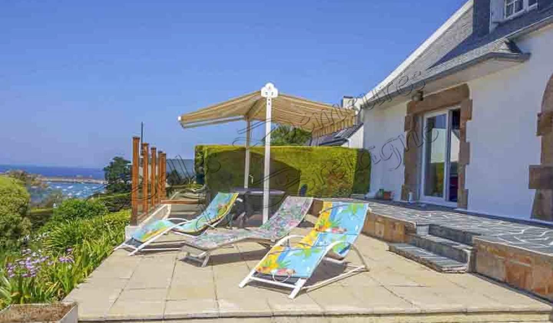 Villa avec piscine et terrasse Plougasnou