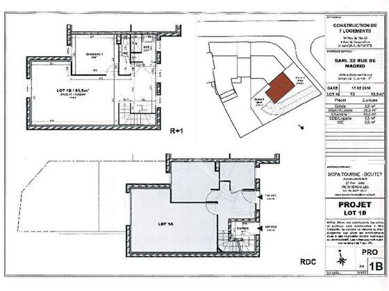 Vente appartement 2 pièces 53,5 m2