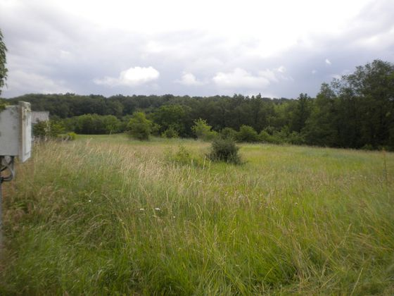 Vente terrain 1251 m2