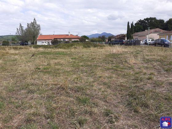 Vente terrain 686 m2