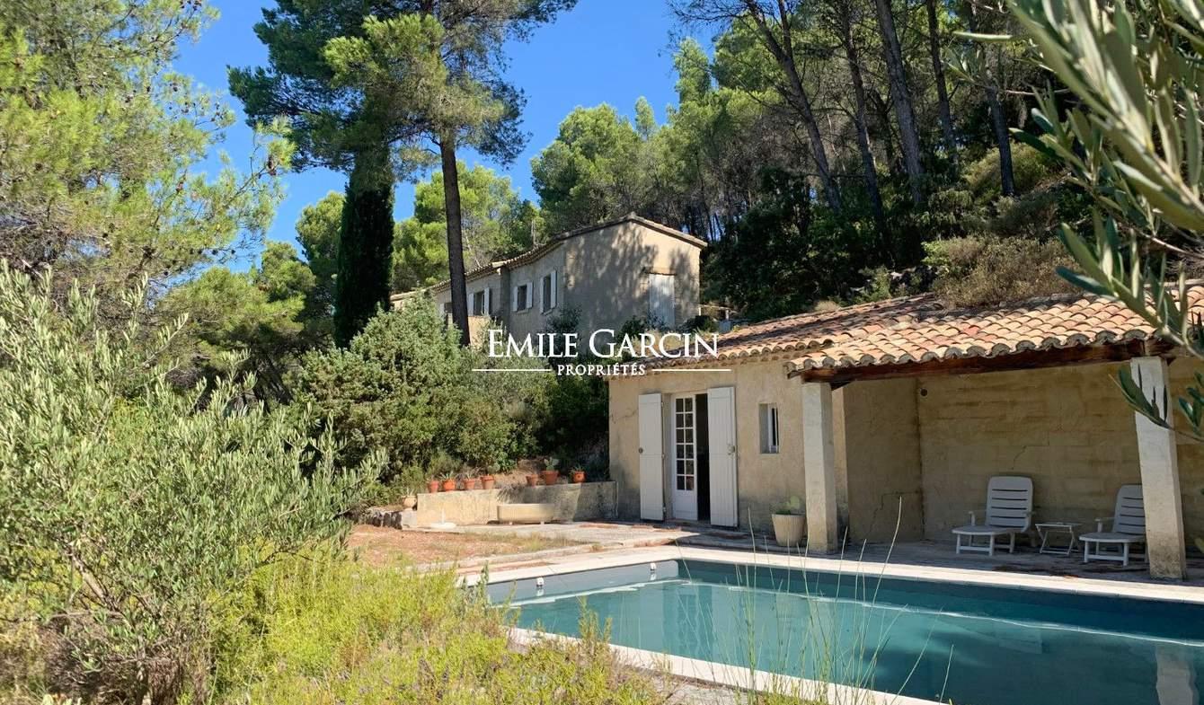 Maison avec piscine Gigondas