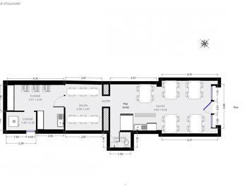 Divers 3 pièces 58,25 m2