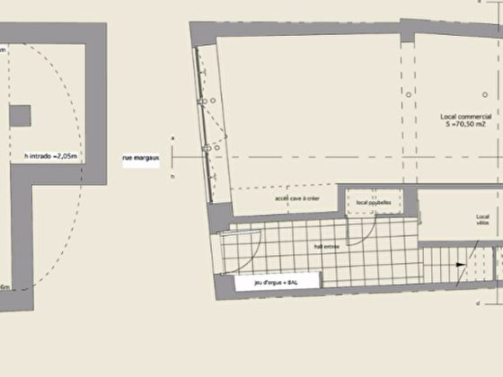 Location divers 1 pièce 70 m2