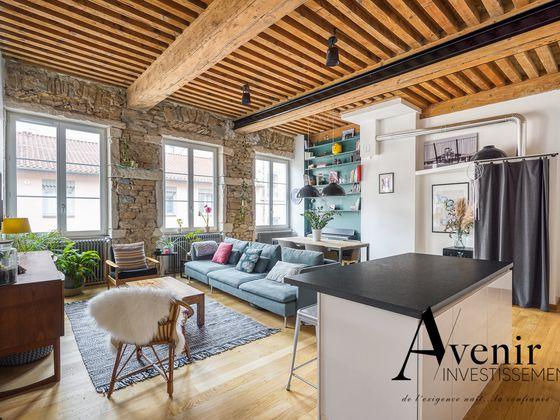Vente appartement 3 pièces 80,66 m2 à Lyon 1er