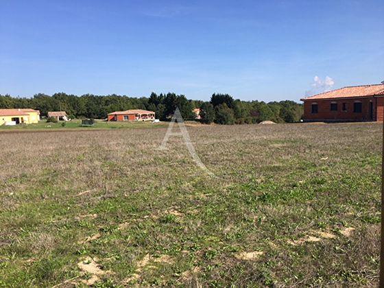 Vente terrain 1317 m2