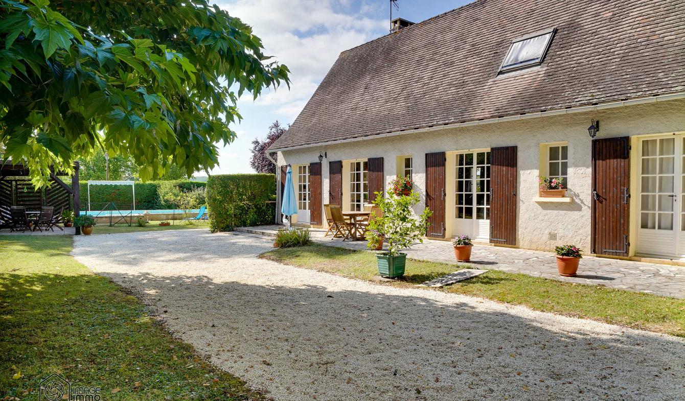 Maison avec piscine Badefols-sur-Dordogne