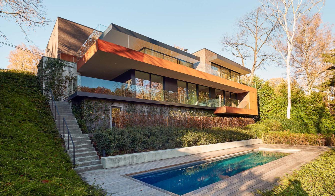 Villa avec piscine et jardin Braine-l'Alleud