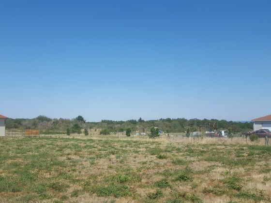 Vente terrain 1165 m2