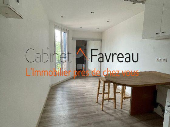 location Appartement 2 pièces 27,66 m2 Vitry-sur-Seine