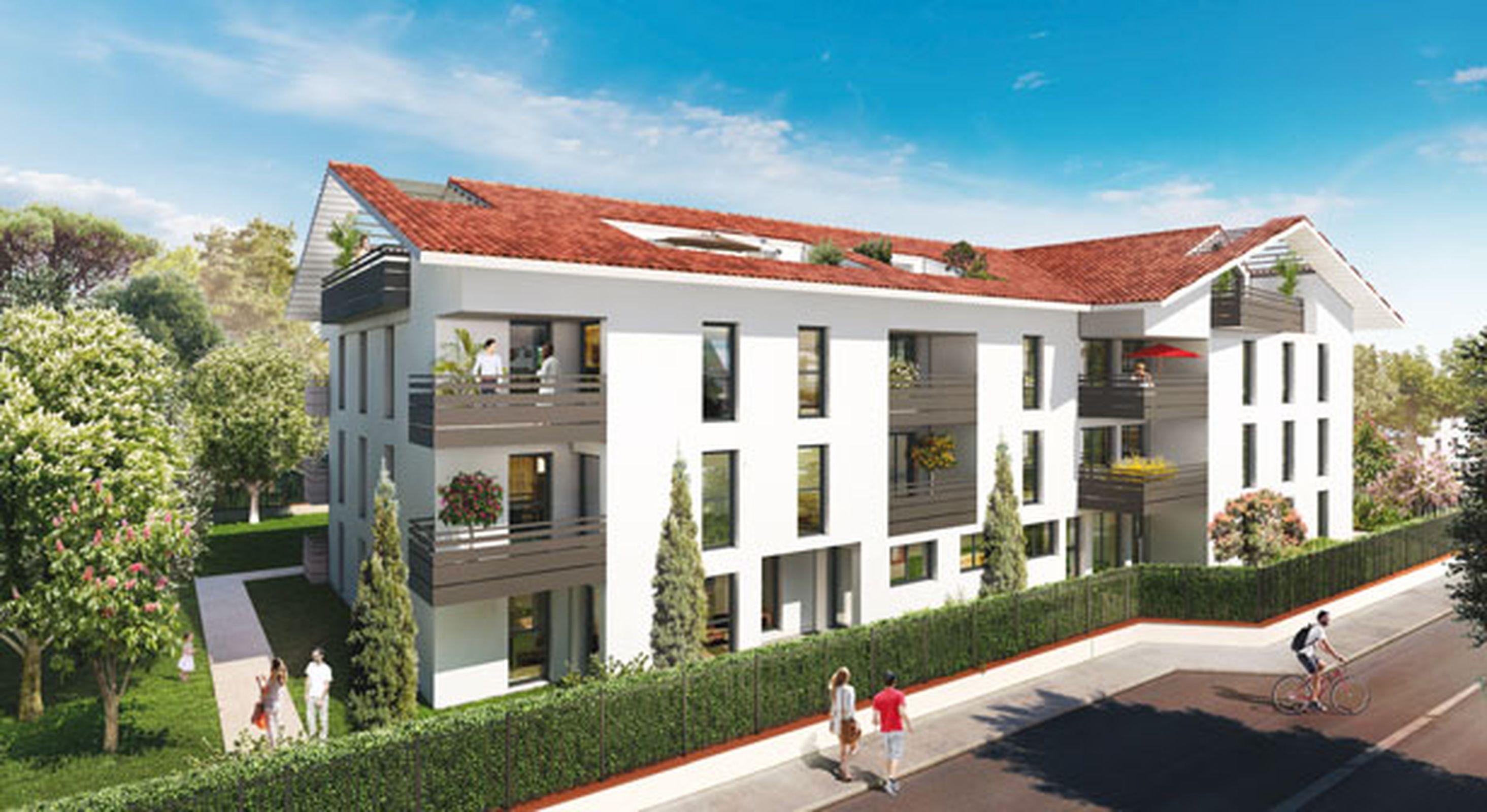 Appartements de standing du T1 au T4 à Lardenne, Toulouse