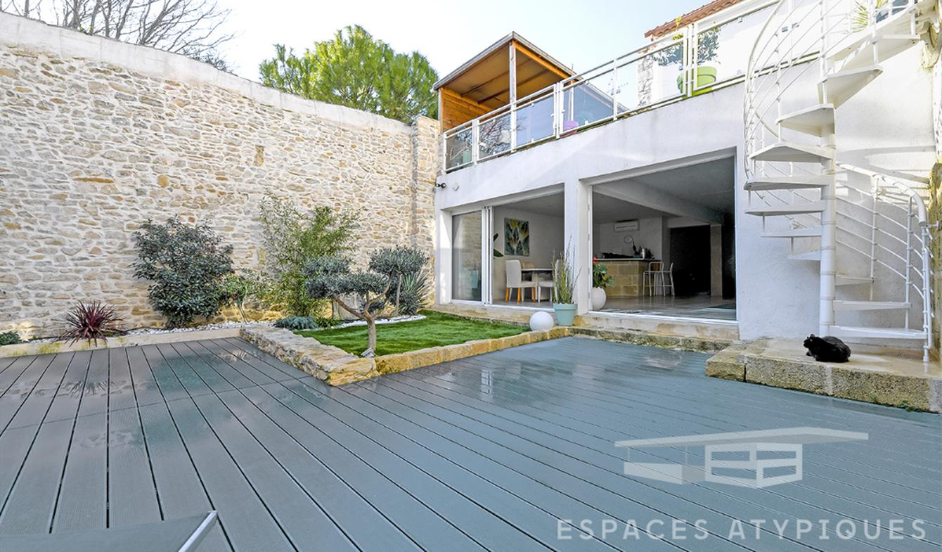 Maison avec piscine et terrasse Milhaud