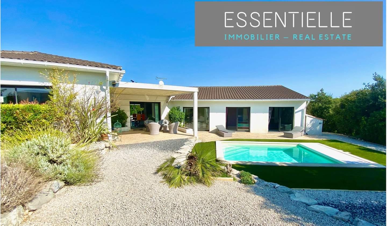 Villa with pool and terrace Saint-Gély-du-Fesc