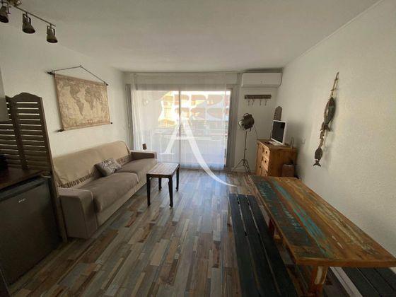 Location studio meublé 26,48 m2